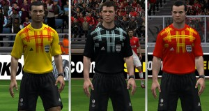 Europa League Referee Kits 13-14