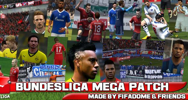 Bundesliga Mega Patch FIFA 14. Новое большое дополнение касающиеся Немецко