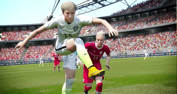 fifa 16 women football team added