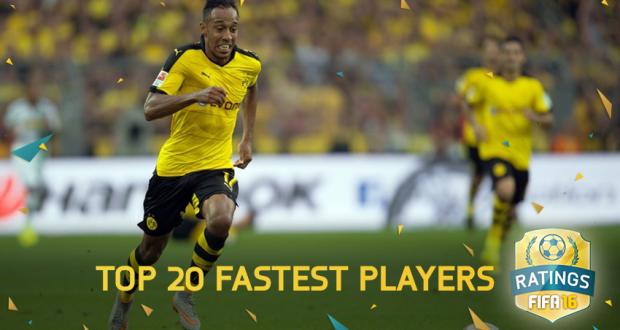 Schnellster Spieler Fifa 16