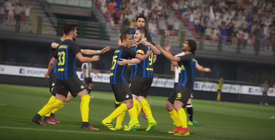 Fifa 17 official gameplay trailer analysis for Fifa 17 milan