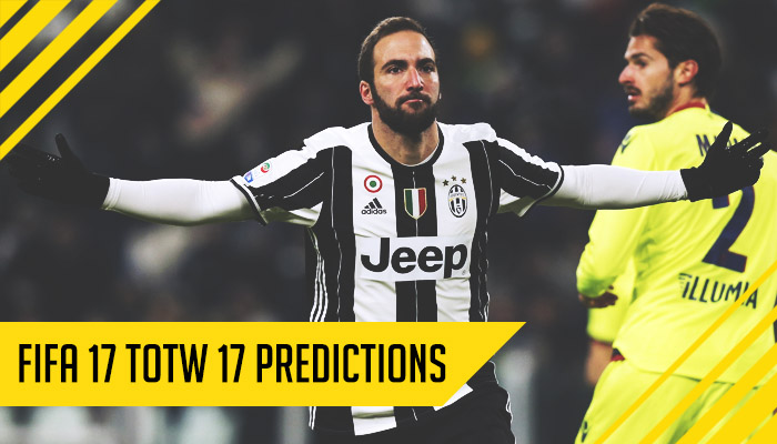 Fifa 17 Totw 17 Predictions Totw17