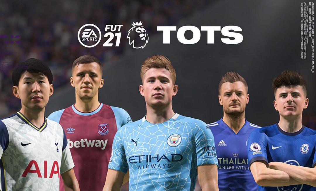 Fifa 21 Premier League Tots Announced